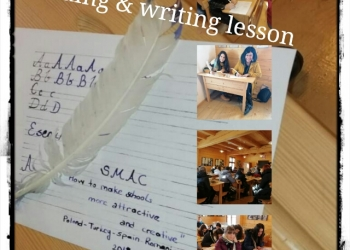 reading and writing lesson